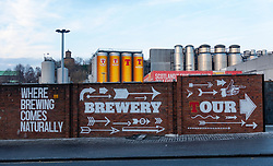 Tennent Caledonian Breweries  Wellpark Brewery in Glasgow, Scotland, UK