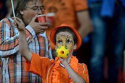 04-06-2014 NED: Vriendschappelijk Nederland - Wales, Amsterdam<br /> Nederland wint met 2-0 van Wales / Support Oranje publiek