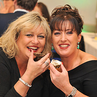 REPRO FREE<br /> Pictured at the 4-course Fruits de Mer Luncheon during the 39th Kinsale Gourmet Festival are singers Sharon Crosbie and Grainne Ryan enjoying Oysters.<br /> Picture. John Allen<br /> <br /> KINSALE GOURMET FESTIVAL PRESENTS:<br /> A WEEKEND OF FINE FOOD AND WINE IN A FUN ATMOSPHERE<br /> The 39th Kinsale Gourmet Festival takes place from 9-11 October 2015, promising a weekend of fine food and wine in a fun atmosphere.  The Festival is hosted by Kinsale's eleven Good Food Circle restaurants, which go to great lengths to display the talent of their chefs, and their beautifully presented food. The emphasis is on locally-sourced ingredients from sea and land, accompanied by carefully selected wines. The United States Ambassador to Ireland, Kevin O'Malley, will be a guest in Kinsale for Friday and Saturday's Good Food Circle events. Kinsale Gourmet Festival has many regular visitors from overseas, including the United States and Canada. There are still some tickets left for Friday evening's opening event, a champagne reception, courtesy of Laurent Perrier, and a 5-course 'Taste of West Cork' dinner in a Good Food Circle restaurant of your choice.  Meanwhile, everyone is welcome to the 'Cork Heat' of the All-Ireland Chowder Cook-Off on Friday afternoon, sponsored by Clóna.<br /> 	Acton's Hotel is the venue for the Cork Heat of the All-Ireland Chowder-Cook off  at 3pm on Friday 9 October.  The €5 admission fee includes the chance to win a €100 gift voucher from the Kinsale Good Food Circle, as well as a tasting sample of each chef's chowder, and free samples from specialised local brewers of craft beers and cider makers.  Some outstanding chefs are expected to compete, including the very popular winner of last year's Cork Heat, The Cornstore.  An entertaining afternoon is guaranteed, as the chefs display their skills with seafood, sharing their secret ingredients, as they compete to produce the tastiest chowder.  The winning chef will represent Cork at the 6th All-Ireland Chowder Cook-O