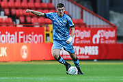 Forest Green Rovers Liam Kitching(20) during the EFL Cup match between Charlton Athletic and Forest Green Rovers at The Valley, London, England on 13 August 2019.
