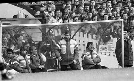 Alex Ferguson Manager Manchester United 1986