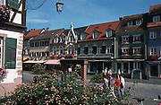 Deutschland, Germany,Baden-Wuerttemberg.Schwarzwald.Gengenbach, Fachwerkstadt.Gengenbach...
