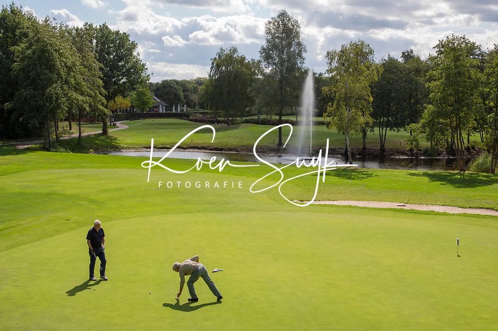 OOSTERHOUT - Hole 10  . Oosterhoutse Golf Club. COPYRIGHT KOEN SUYK