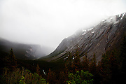 The Weeping Wall on the Icefields Parkway