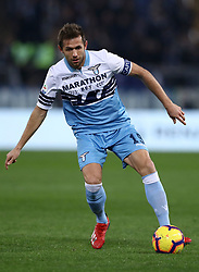 February 7, 2019 - Rome, Italy - Ss Lazio v Empoli Fc - Serie A.Senad Lulic of Lazio at Olimpico Stadium in Rome, Italy on February 7, 2019. (Credit Image: © Matteo Ciambelli/NurPhoto via ZUMA Press)