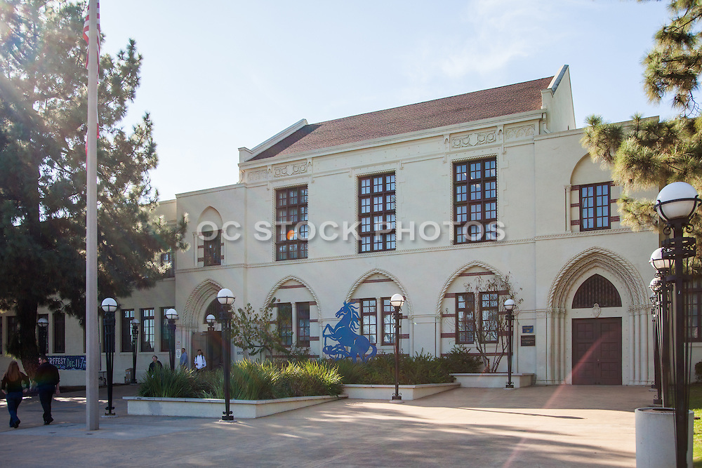 John Muir High School Campus in Northwest Pasadena California