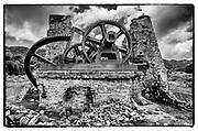 La Lucia Sugar Mill ruins at Yabucoa, Puerto Rico.