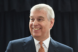 The Duke of York visits the Royal National Orthopaedic Hospital in London to open the new Stanmore Building.