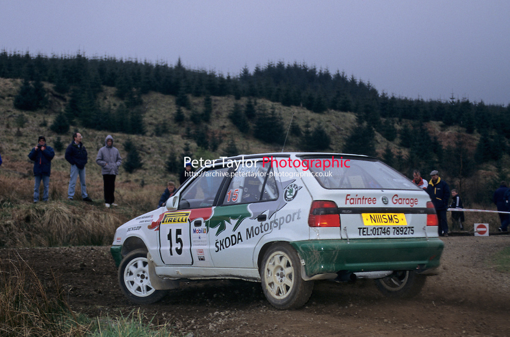 Mobil 1/RAC British Rally Championship 1997. Pirelli International Rally. Steve Wedgbury / Chris Neale. Skoda. Skoda Felicia Kit Car. World Copyright: Peter Taylor/PSP. Copy of publication required for printed pictures. Every used picture is fee-liable..