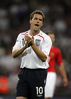 Photo: Rich Eaton.<br /> <br /> England v Russia. UEFA European Championships Qualifying. 12/09/2007. England's Michael Owen.