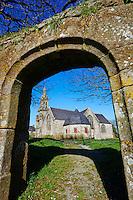France, Finistère (29), chapelle Sainte Marie du Menez Hom // France, Briitany, Finistere, St Marie du Menez Hom