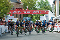 Riders compete during the Doylestown Health Pro Women's Race at the September 11, 2016 Bucks County Classic, held in Doylestown, PA.