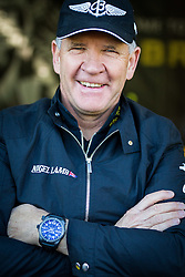 25.10.2014, Red Bull Ring, Spielberg, AUT, Red Bull Air Race, im Bild Nigel Lamp, (GBR) während das Hangar Walks // during the Red Bull Air Race Championships 2014 at the Red Bull Ring in Spielberg, Austria, 2014/10/25, EXPA Pictures © 2014, PhotoCredit: EXPA/ M.Kuhnke