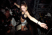 DANCING GIRL AT CLUB