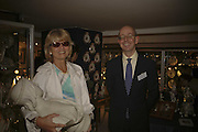 Basia Hamilton and Mark Law, The opening  day of the Grosvenor House Art and Antiques Fair.  Grosvenor House. Park Lane. London. 14 June 2006. ONE TIME USE ONLY - DO NOT ARCHIVE  © Copyright Photograph by Dafydd Jones 66 Stockwell Park Rd. London SW9 0DA Tel 020 7733 0108 www.dafjones.com