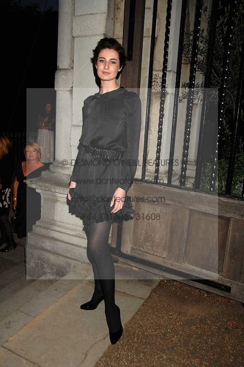 ERIN O'CONNOR at the Moet Mirage Evening at Holland Park Opera House, London W8 on 16th September 2007.<br />
