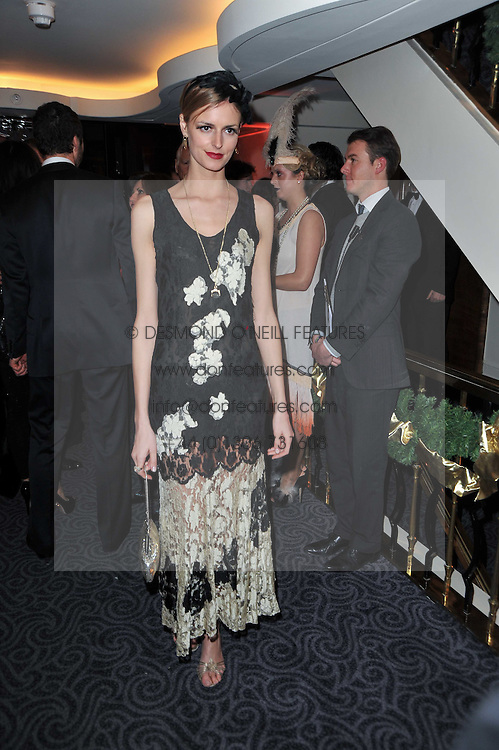 JACQUETTA WHEELER at Quintessentially's 10th birthday party held at The Savoy Hotel, London on 13th December 2010.