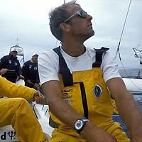THE RACE CLUB MED <br /> SKIPPER GRANT DALTON<br /> ENTRAINEMENT AU LARGE DE NEW YORK<br /> JUILLET 2000