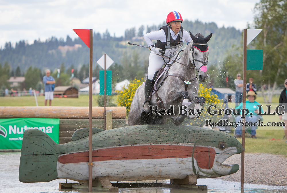 Heather Morris (USA) and Get Rowdy at the The Event at Rebecca Farm in Kalispell, Montana.