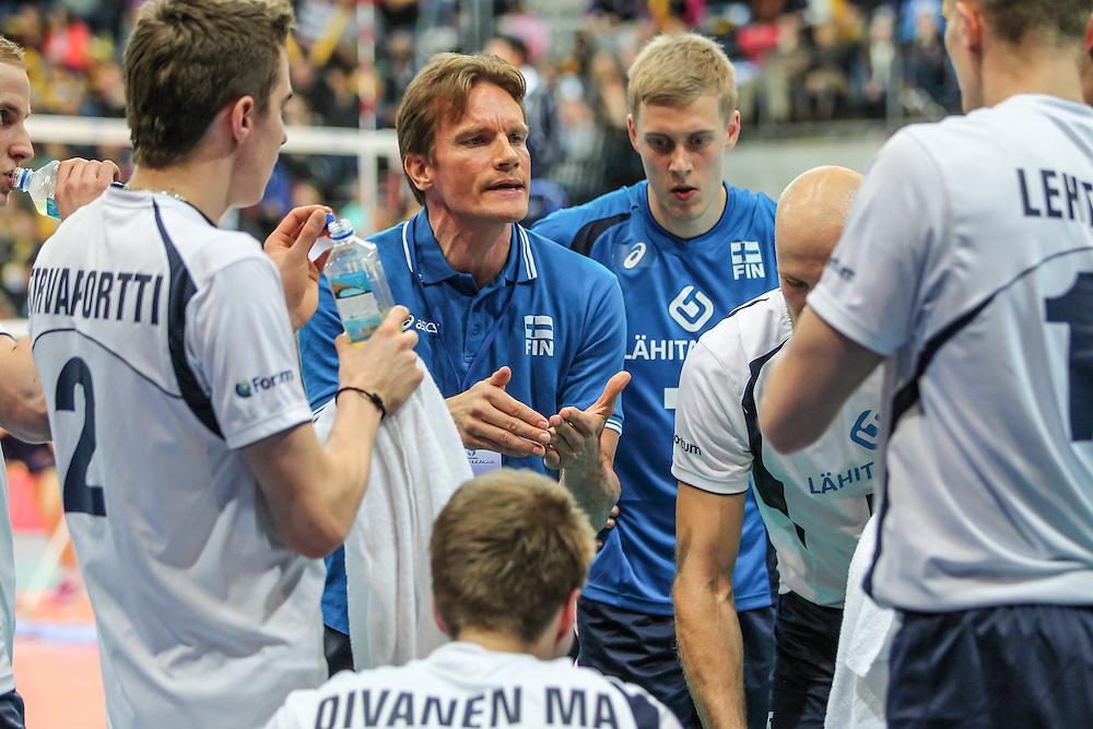 Coach Tuomas Sammelvuo
