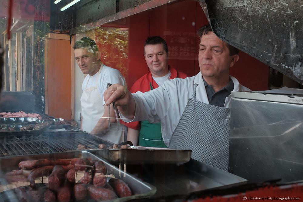 Kebab-Restaurant in der kosovarischen Stadt Peja