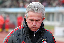 15.01.12, Erfurt, Steigerwaldstadion, GER, 3.Liga, Freundschaftsspiel, FC Rot Weiss Erfurt vs FC Bayern München im Bild Trainer Jupp Heynckes (Bayern) // during the friendly match between FC Rot Weiss Erfurt and FC Bayern Munich, Erfurt Germany on 12/01/15 . EXPA Pictures © 2012, PhotoCredit: EXPA/ nph/ Hessland..***** ATTENTION - OUT OF GER, CRO *****