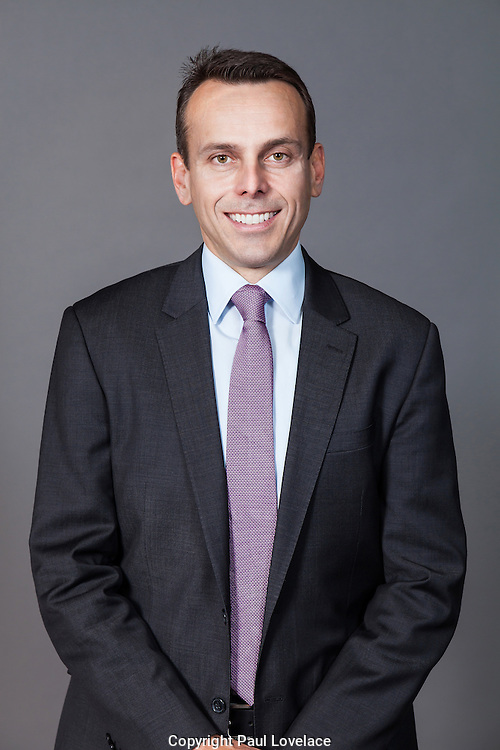 Corporate  portraits with grey backdrop.