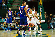 WACO, TX - JANUARY 7: Al Freeman #25 of the Baylor Bears defends against Frank Mason III #0 of the Kansas Jayhawks on January 7, 2015 at the Ferrell Center in Waco, Texas.  (Photo by Cooper Neill/Getty Images) *** Local Caption *** Al Freeman