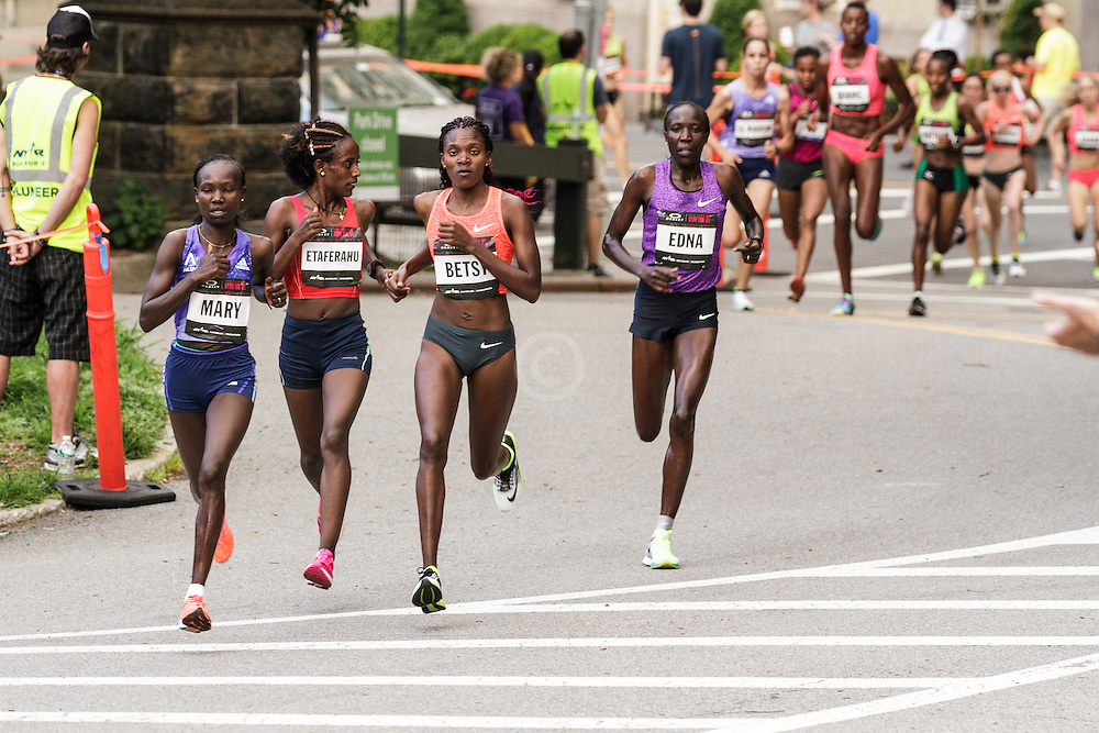 NYRR Oakley Mini 10K for Women: leaders separate at mile one,