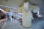 Amarin Department Store. Faux Greek pillars.