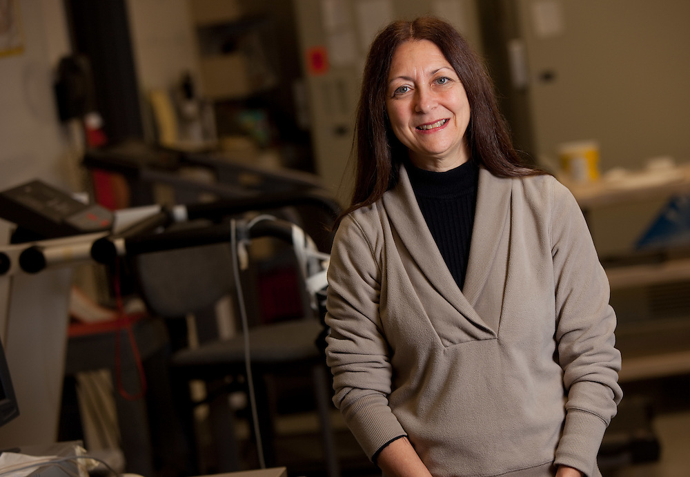 London, Ontario ---11-10-28--- Dr. Michelle Mottola is seen in the Exercise and Pregnancy Lab at the University of Western Ontario October 28, 2011.<br /> GEOFF ROBINS The Globe and Mail