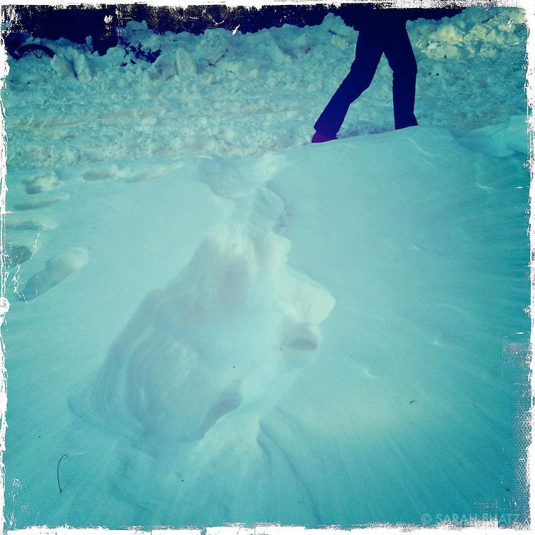 Snow, Sullivan Street