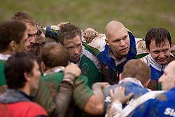 Rugby match between National team of Slovenia (green) and Denmark (red) at EUROPEAN NATIONS CUP 2008-2010 of B group 3rd division, on May 15, 2010, in Stanezice, Ljubljana, Slovenia. Slovenia won 13:11. (Photo by Vid Ponikvar / Sportida)