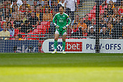 Tranmere Rovers goalkeeper Scott Davies (1) during the EFL Sky Bet League 2 Play Off Final match between Newport County and Tranmere Rovers at Wembley Stadium, London, England on 25 May 2019.