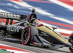 March 22, 2019 - Austin, Texas, U.S. - JAMES HINCHCLIFFE (5) of Canada goes through the turns during practice for the INDYCAR Classic at Circuit Of The Americas in Austin, Texas. (Credit Image: © Walter G Arce Sr Asp Inc/ASP)