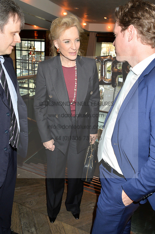 HRH PRINCESS MICHAEL OF KENT at the 3rd birthday party for Spectator Life magazine hosted by Andrew Neil and Olivia Cole held at the Belgraves Hotel, 20 Chesham Place, London on 31st March 2015.