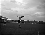 25/02/1953<br /> 02/25/1953<br /> 25 February 1953<br /> Soccer: FAI Cup Shamrock Rovers v Evergreen United 2nd replay at Glenmalure Park, Miltown, Dublin.