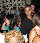 **EXCLUSIVE**.Tony Parker partying  at PM Lounge two weeks before his wedding to Eva Longoria.New York, NY, USA .Sunday, May, 25, 2007.Photo By Celebrityvibe.To license this image call (212) 410 5354 or;.Email: celebrityvibe@gmail.com; .