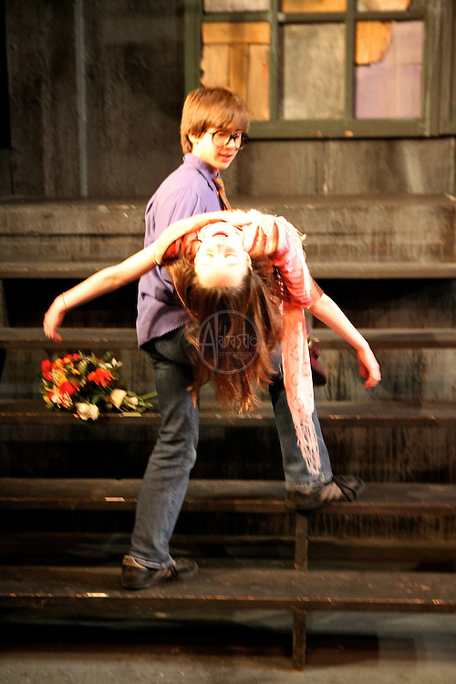 Seattle Public Theatre and Seattle Opera youth camp: Orpheus. Feb. 2012.