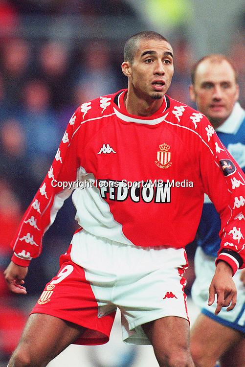 David TREZEGUET - 30.09.1999 - As Monaco<br />Photo: Sports / Icon Sport