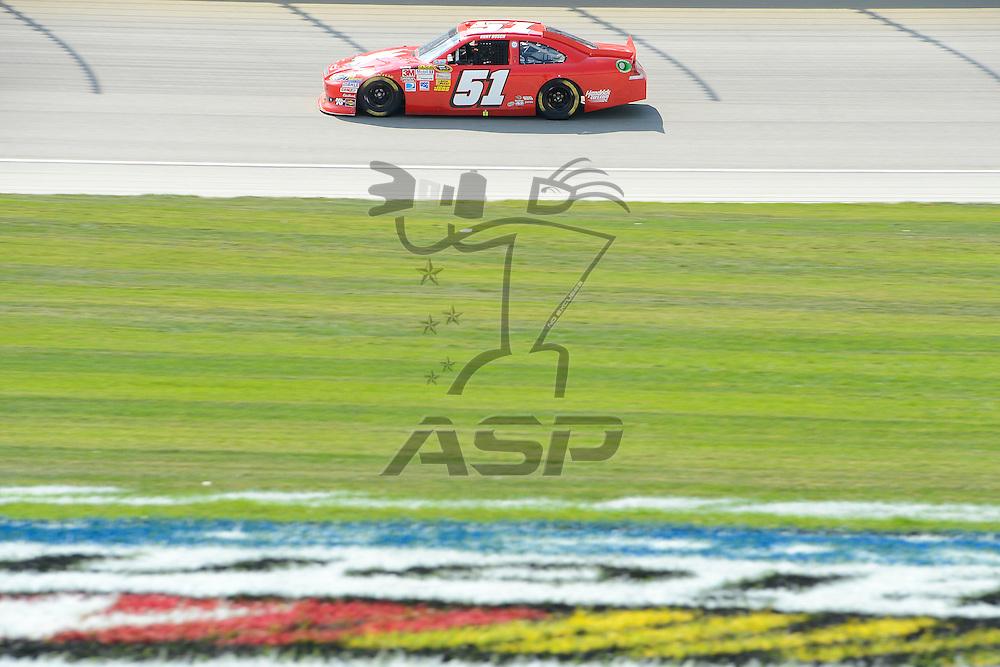 Joliet, IL - SEP 16, 2012: Kurt Busch (51) during the Geico 400 at the Chicagoland Speedway in Joliet, IL.