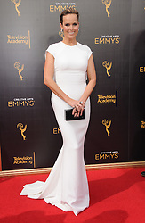 Melora Hardin bei den Creative Arts Emmy Awards in Los Angeles / 100916<br /> <br /> <br /> *** at the Creative Arts Emmy Awards in Los Angeles on September 10, 2016 ***