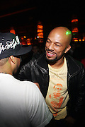 Common at the Afterparty for Common's Concert wth Maxwell at Madison Square Garden hosted by Common and held at Marquee on September 29, 2009 in New York City