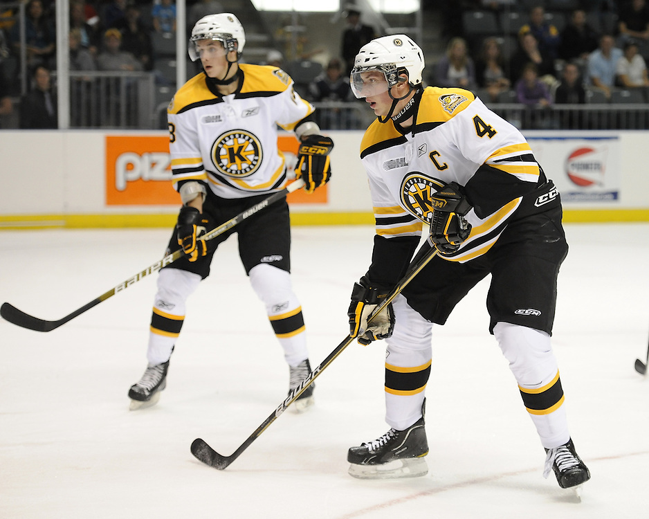 .Taylor Doherty of the Kingston Frontenacs. Photo by Aaron Bell/OHL Images