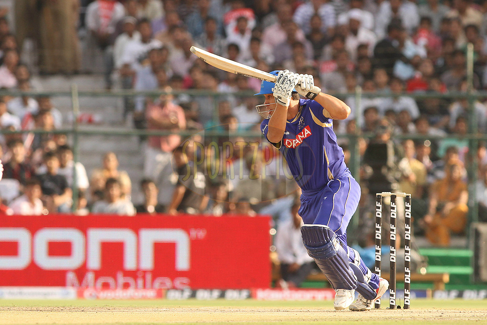 Ross Taylor of the Rajasthan Royals during match 12 of the the Indian Premier League ( IPL ) Season 4 between the Rajasthan Royals and the Kolkata Knightriders held at the Sawai Mansingh Stadium, Jaipur, Rajatshan, India on the 15th April 2011..Photo by Shaun Roy/BCCI/SPORTZPICS