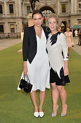 Left to right, SASHA VOLKOVA and ELISABETH ESTEVE at the annual Royal Academy of Art Summer Party held at Burlington House, Piccadilly, London on 4th June 2014.