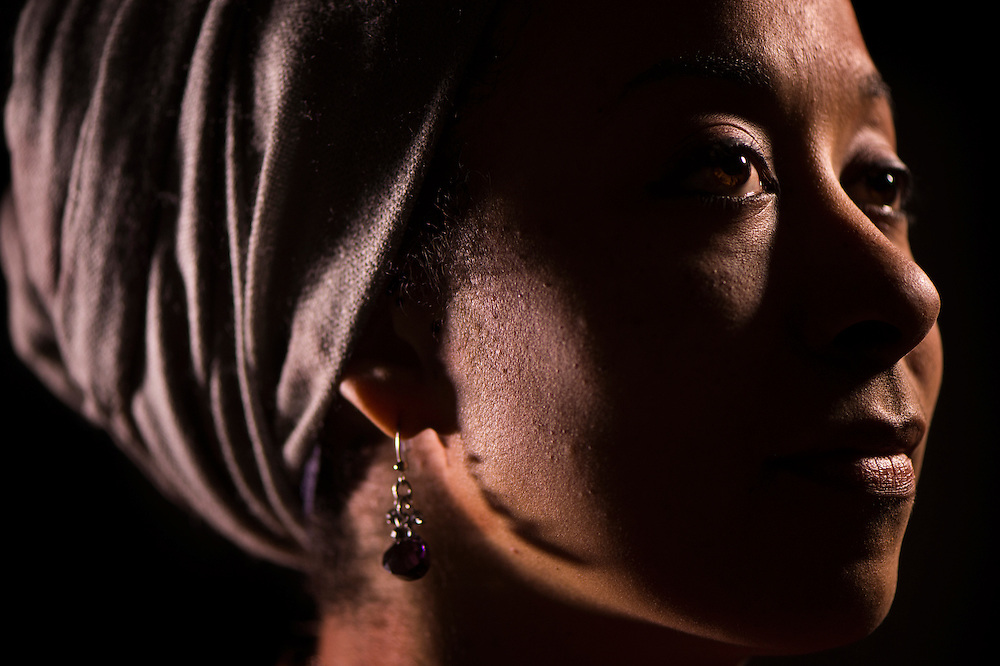 "Aisha Sharif, of Shawnee, a professor of English at Longview Community College. For the ""I Am A Muslim"" series."
