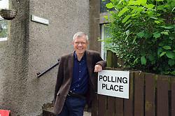 Willie Rennie, Kelty, 8-6-2017<br /> <br /> Willie votes in Keltybridge<br /> <br /> (c) David Wardle | Edinburgh Elite media