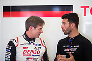 June 13-18, 2017. 24 hours of Le Mans. Pascal Vasselon, Technical Director, Toyota Gazoo Racing, Jose Maria Lopez, Toyota Racing, Toyota TS050 Hybrid