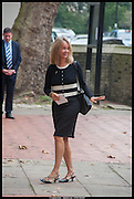 SABRINA GUINNESS, Memorial service for Mark Shand.  . St. Paul's Knightsbridge. September 11 2014.